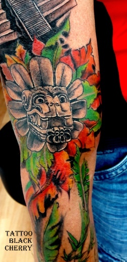 Tattoo schlange mexican